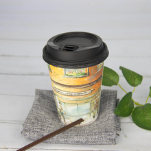 hollow thermal dustrproof material take out away biodegradable various wall hot cold drinking cardboard paper souffle cup