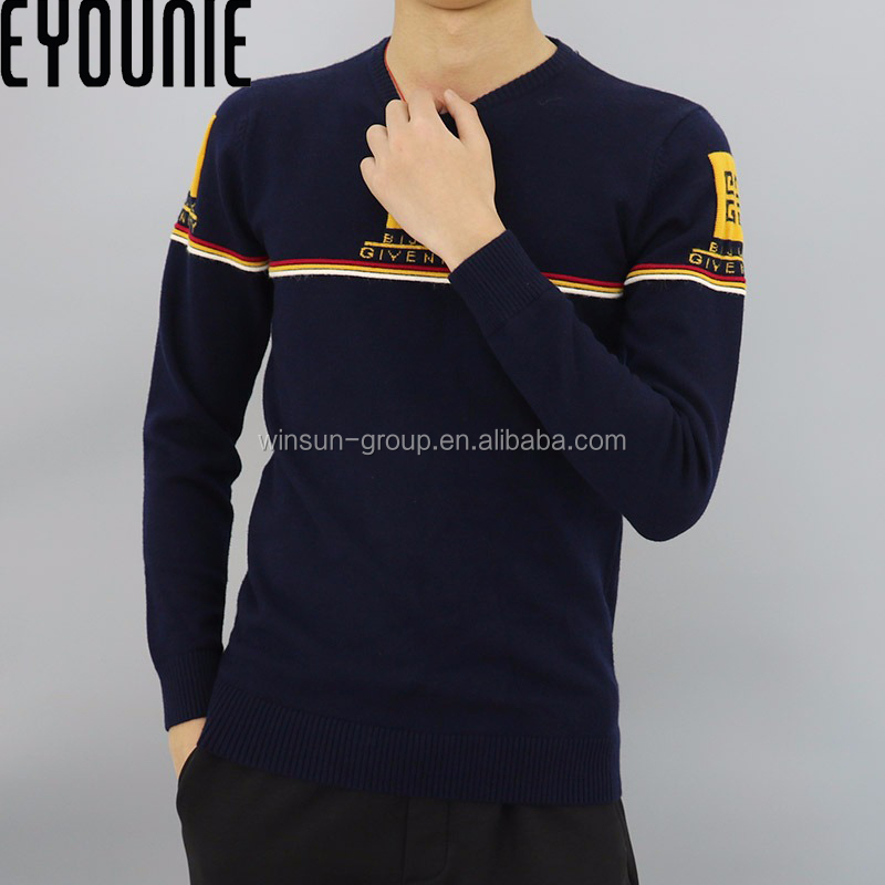 latest christmas custom knit men's pullover sweater designs for boys