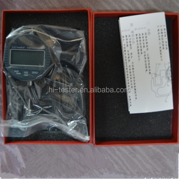0-10-30mm depth Electronic thickness gauge, display thickness gauge 0.001mm