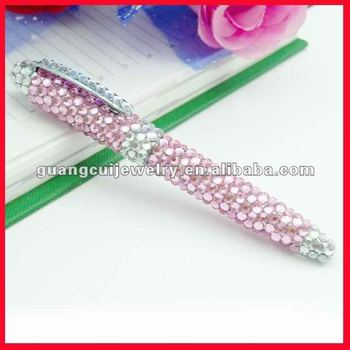 fashion promotional rhinestone pen