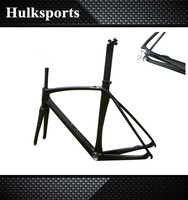 2016 700C Full Carbon Inner Cable Carbon Aero Road Bicycle Frame Carbon Road Bike Frames for Sale