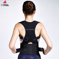 best selling new products Double Pull Neoprene Adjustable Lumbar Back Brace Support with steel
