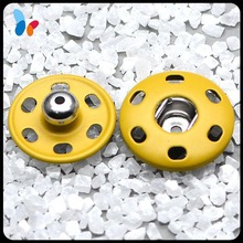 colorful metal snap fasteners for clothing