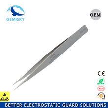 Ultra Pointed Stainless Steel tweezers for jewelry and watch making with your own logo