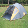 High quality 3 person family spring tour outdoor fashion portable easy to fold light weight tent as for camping tent-grey