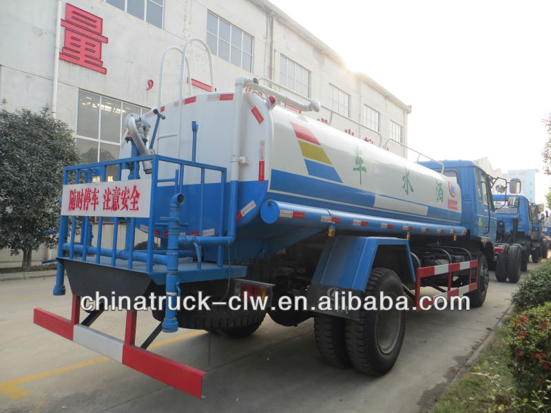 Cheaper Price of 10000 Liters Water Tank Truck, Water Sprinkler Truck, Water Bowser Tanker Truck 3-30m3