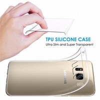 Factory wholesale price ultra thin clear TPU case For Samsung Galaxy S8,for Samsung S8 TPU case