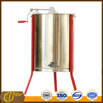 2016 Hot Sale 4 Frames Stainless Steel Manual Honey Extractor