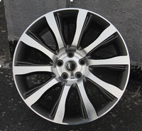 Perfect finish aluminum car wheels chrome wheels F668