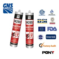 GNS polyurethane foam window glass adhesive /acidic silicone glass adhesive