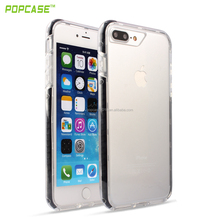 hot sale Full protective can make rubber TPU+PC+SILICONE phone accessories case For Apple iPhone 7 plus case