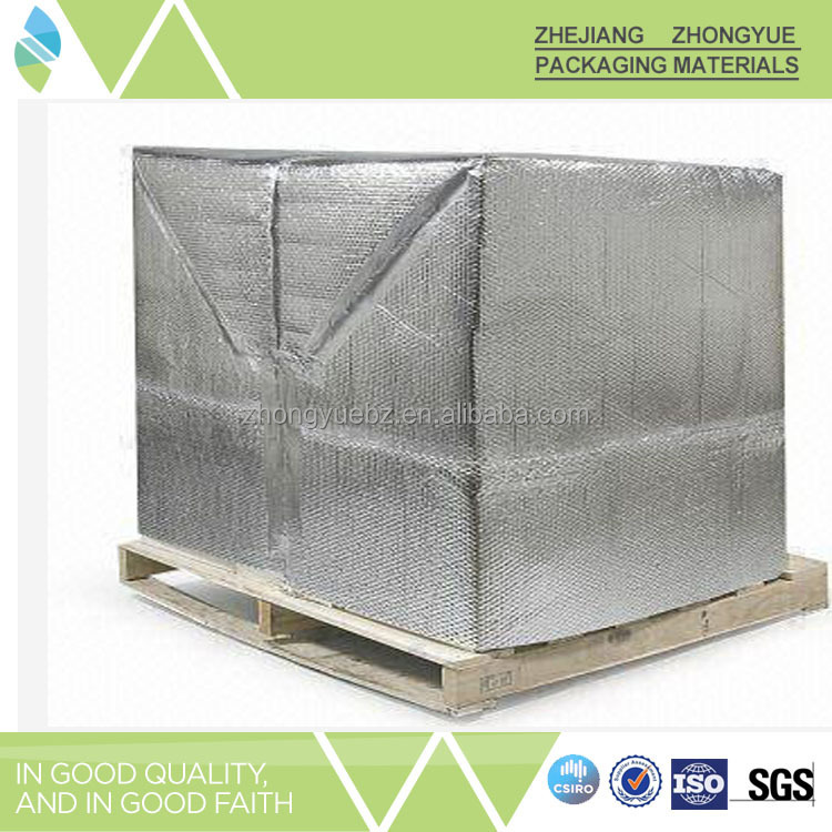 Thermal insulation pallet cover material
