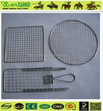 BBQ Wire Mesh/Grill Netting/stainless steel disposable bbq grill wire mesh