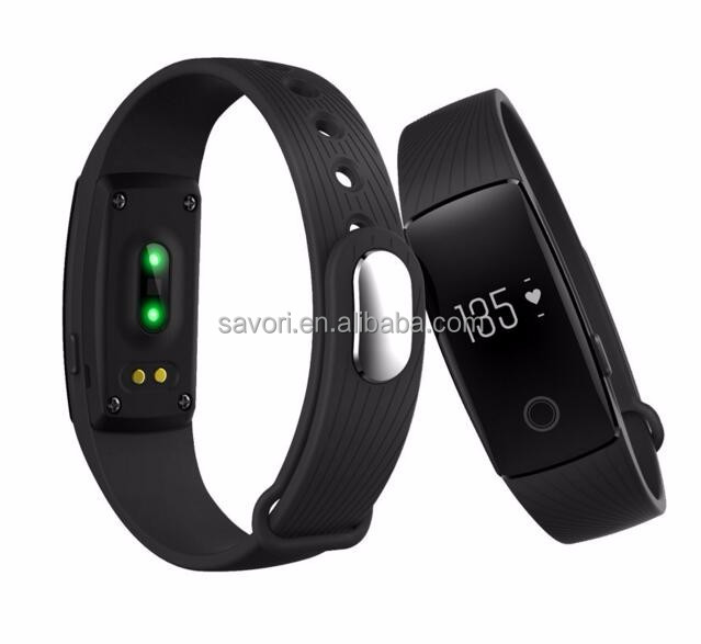 medical smart id bracelet smart band bracelet with silicone belt and free logo button