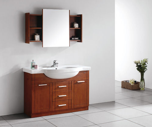 24 inch hotel solid wood bathroom vanity for sale