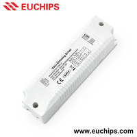 LED Driver 220V Input 12W 280/350/500mA CC DALI Dimmable LED Driver 2 Years Warranty LED Street Light Downlight Driver Wholesale