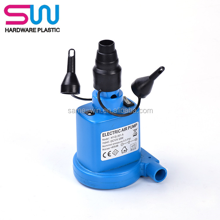 12 Volt High Volume Low Pressure Electric Air Inflatable Pump