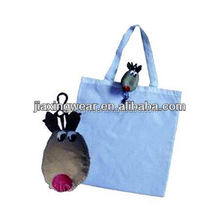 Fashion nylon reusable bag for shopping and promotiom