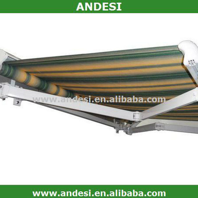 half cassette folding arm awnings