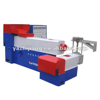 Waste plastic recycling granulator for woven bag