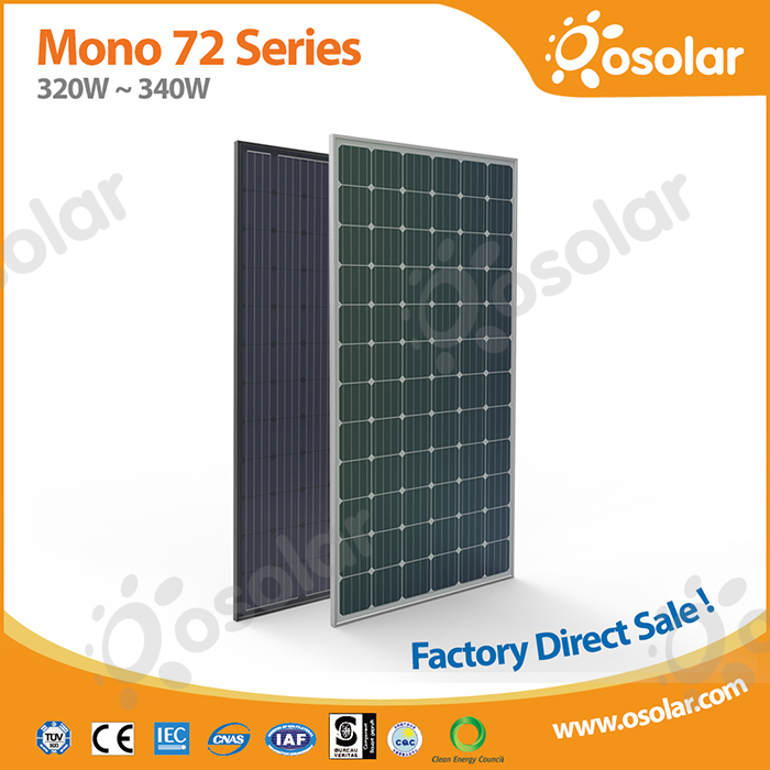 good quality 72 cells 330w solar module with CE TUV CEC
