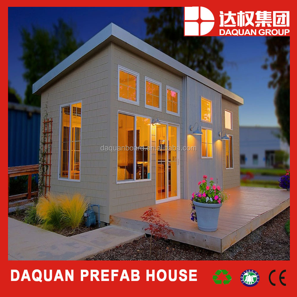 China manufacturer prefab beach villa with good quality sandwich wall panels