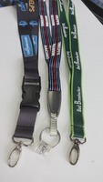 Wholesale Racing Medal Lanyard/ Polyester Lanyard in Dark Green in 3D Printing with a Lobster Clutch and Buckle