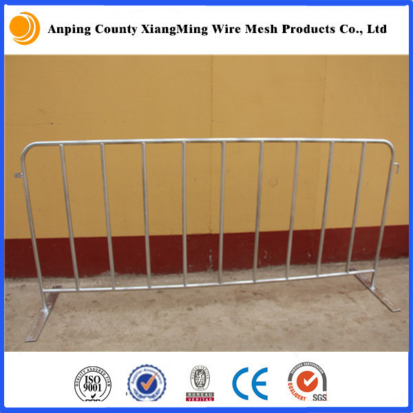 Hot sale Galvanized Used Crowd Control Barriers/Removable Fence(Direct Factory)