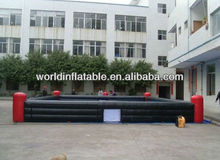 Inflatable soccer field for ourdoor water football sports