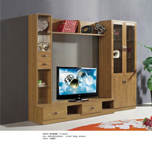 Luxury Modern Simple TV stand, Walnut Solid Wood TV Cabinet