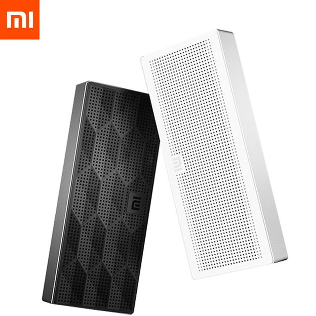 Original Xiaomi Bluetooth Speaker Portable Stereo Wireless Mini Square Box Bluetooth 4.0 Speaker for IPhone and Android Phones