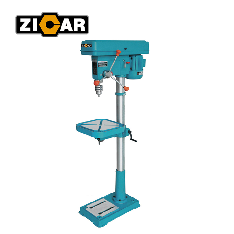 ZICAR DP5125 bench drilling press machine with drilling capacity 25mm/metal drilling machine/central machinery drill press parts