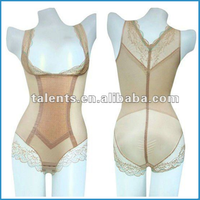 sewed body suits with lace girdles