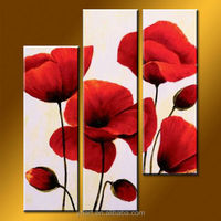 Wholesale Handmade Abstract Modern Oil Painting Pictures Of Flowers For Sale