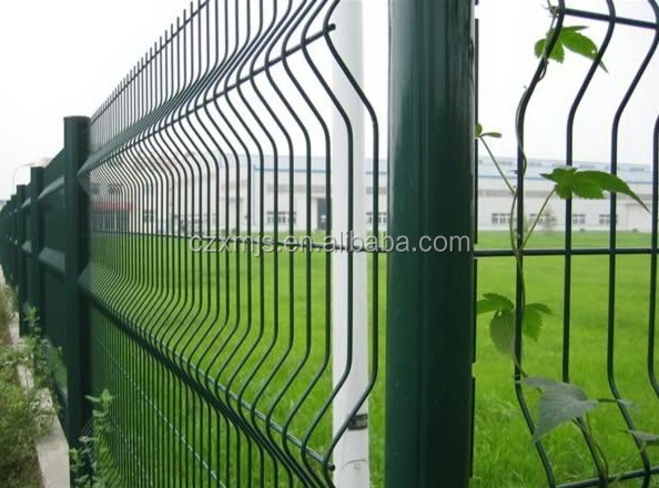 CE certificated galvanized and PVC coated Welded Wire Mesh Fenc /3d wire mesh fence panels hot sale/ Nylofor 3D Pro fence panels
