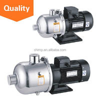 CHIMP CHL(K) series 20m3/h 1.1kW 1-stage food/sea usage multistage horizontal stainless steel centrifugal pumps