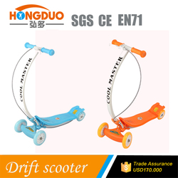 girls&boys bending handle 4 wheels kids scooter