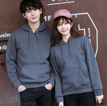 new style europe color matching couple t-shirt sweater 2017