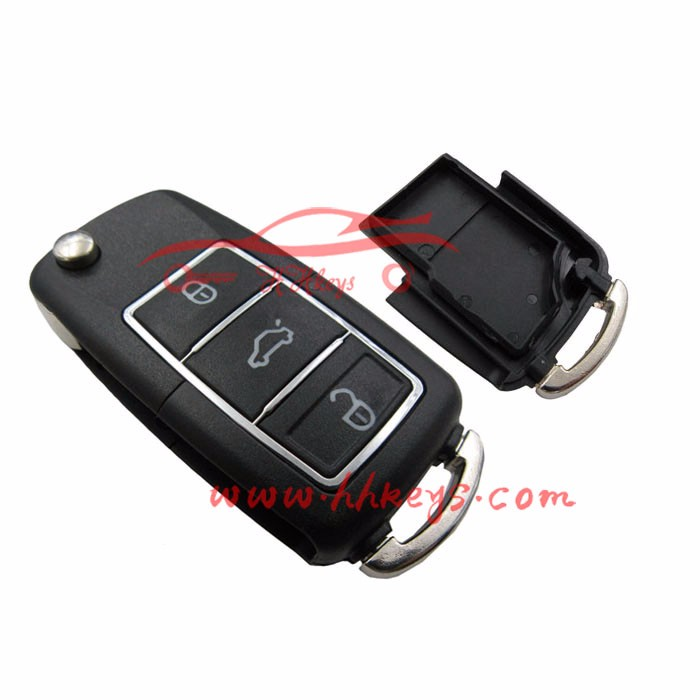 Big Promotion VW Passat B5 Type Waterproof Remote Control For Duplicator Key Blank Cover