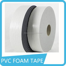 Eco-friendly recycled foam self adhesive pvc duct tape