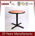 Modern Design Restaurant Furniture Used Wood Round Tables