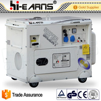 5KW Air-cooled Super silent gasoline generator price list