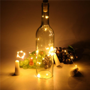 LED String Light Single Light Not Flicker Electric Light for Home Decoration
