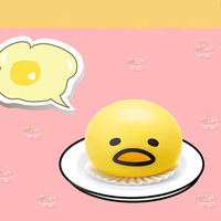 Squeeze Chicken Decompression Venting Egg Anger Stress Reliever Ball Relief Novelty Toy