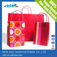 Hot Selling Fashion Environmental Paper Craft Bag for Shopping