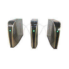 Intelligent Automatic Barrier Gate RFID Pedestrian Gate Entry System flap barrier gate