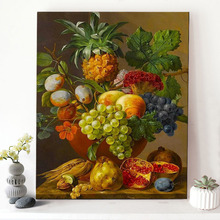 CHENISTORY DZ1178 Picture Painting By Numbers Fruits On Canvas Wall Decor With Frame