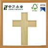 Christmas custom unfinished small carved wooden crosses wholesale