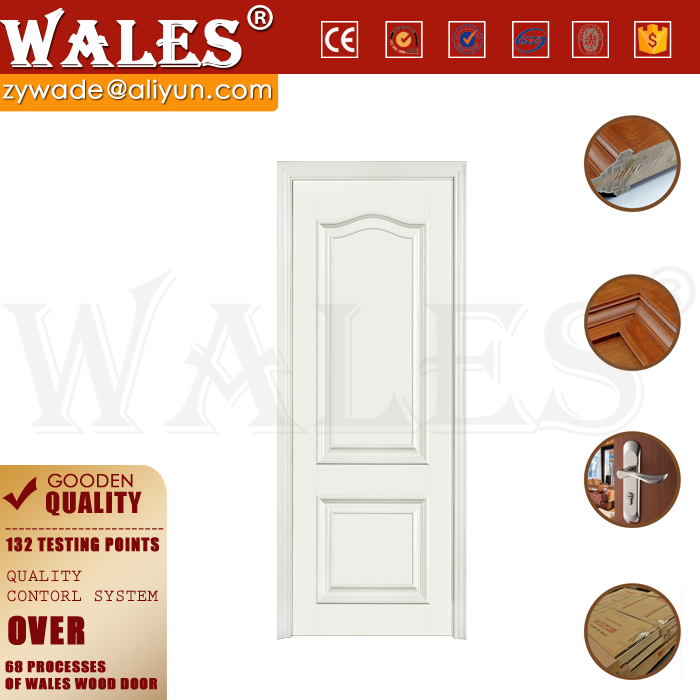 WALES Oem design wooden interior split timely cedar doors