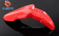ZJ-109-RD Red Motorcycle spare part Supermoto Evo Plastic Pit Bike Front Fender Fit for Honda KTM Suzuki Kawasaki
